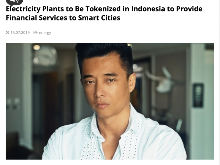 Electricity Plants to Be Tokenized in Indonesia to Provide Financial Services to Smart Cities