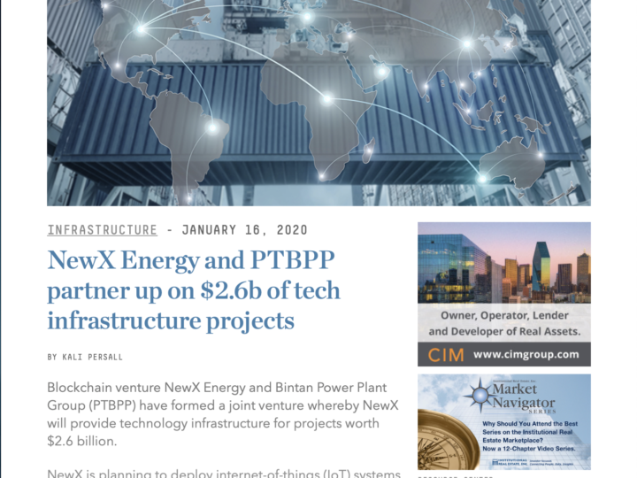 NewX Energy and PTBPP partner up on $2.6b of tech infrastructure projects
