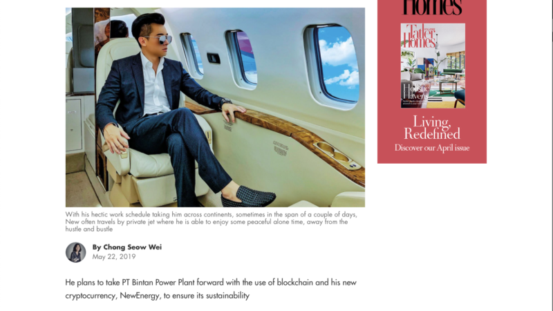 Tatler Singapore – Malaysian Energy Entrepreneur Christien New Is Powering The lives Of Many In Southeast Asia