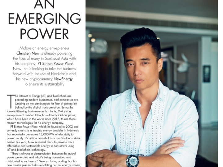 Tatler Magazine Singapore – An Emerging Power