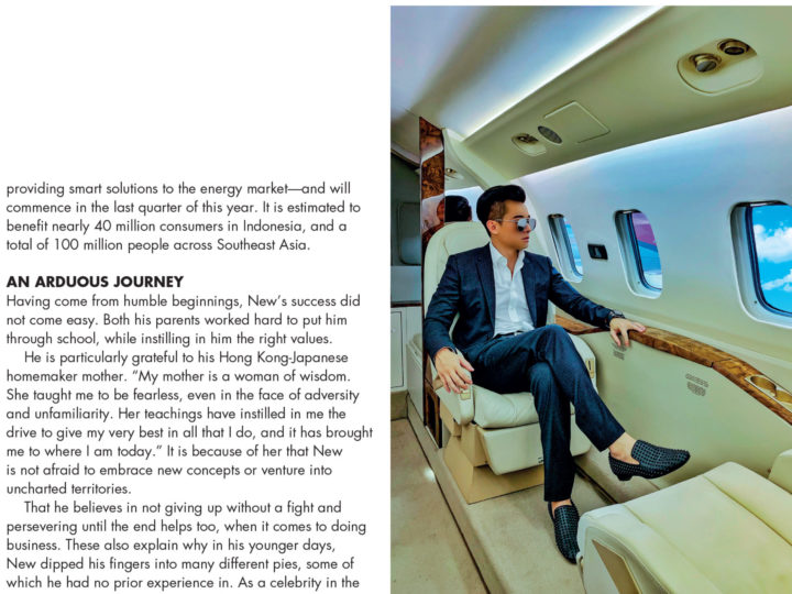 Tatler Magazine Singapore – An Emerging Power 2