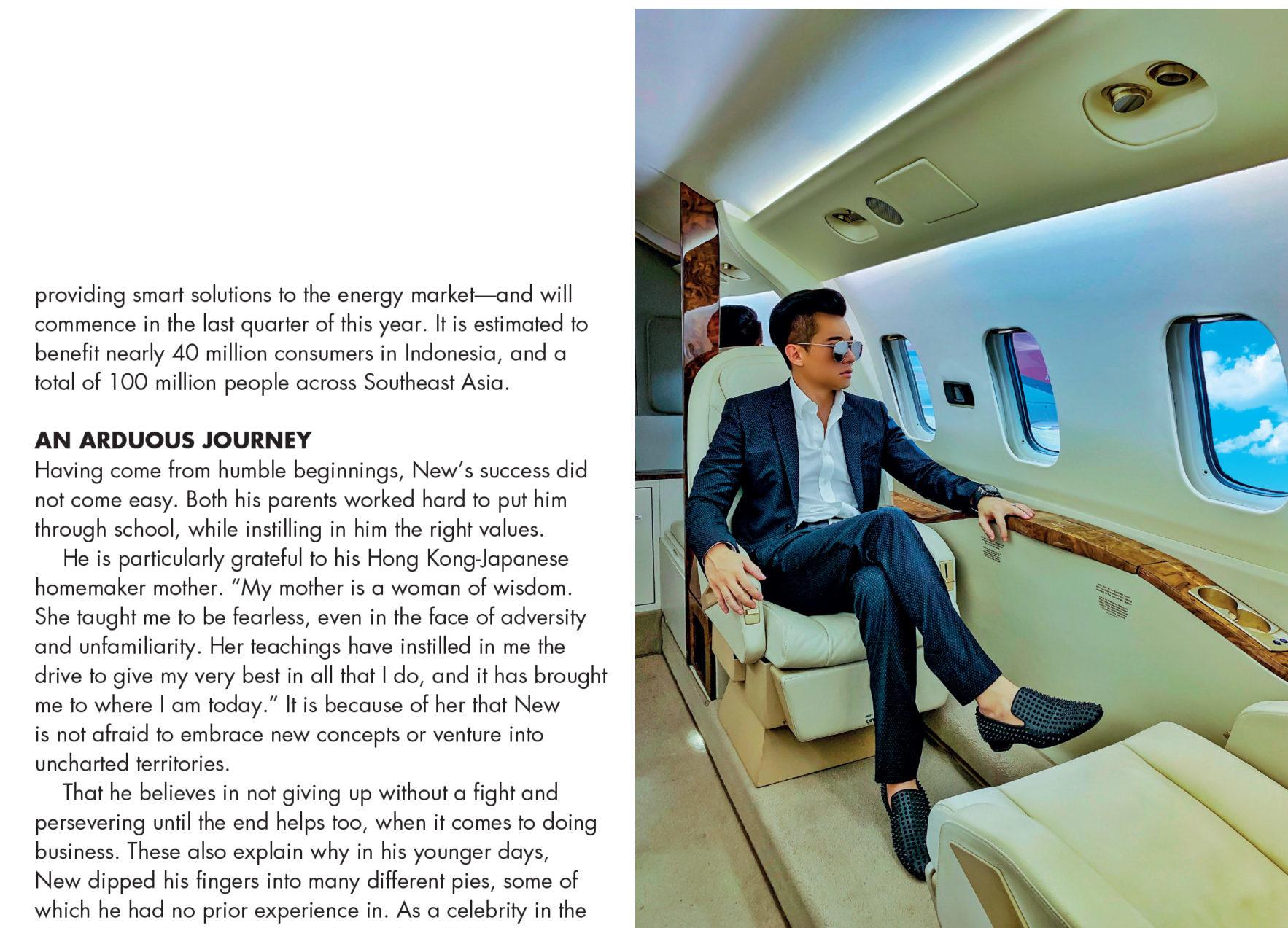 Tatler Magazine Singapore – An Emerging Power 2